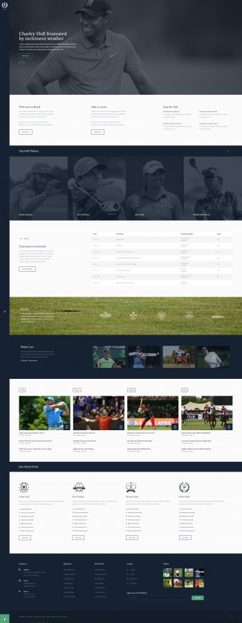 Royal - Joomla! Sports Club Template