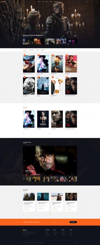 Buster - Joomla! Movie Template