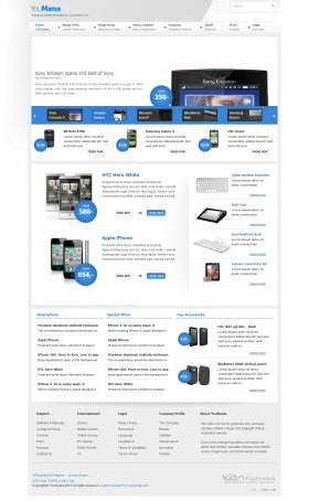 YouMania - Web Shop Joomla Template