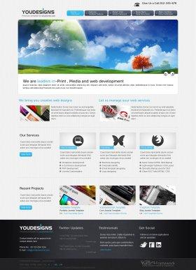 Youdesigns - Designer Portfolio Joomla Template