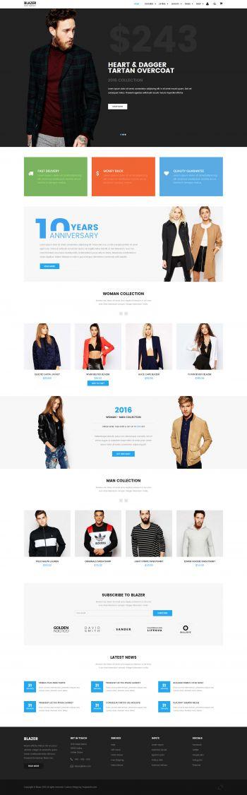 Blazer - eCommerce Joomla Template