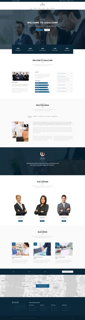 LegalCorp - Joomla Attorney Template
