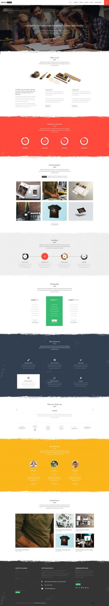 Creativestudio - Multipurpose Joomla Template