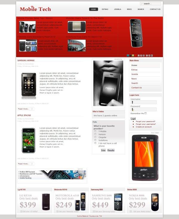 MobileTech - Mobile Business Portal