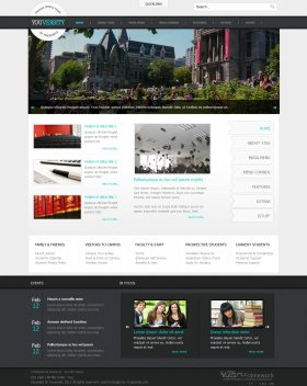 Youversity - Education Joomla Template