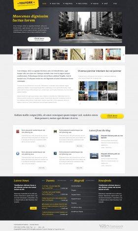 Youyork - City Portal Joomla Template