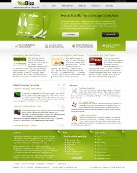 YouBizz-  Designer WordPress Portfolio Theme
