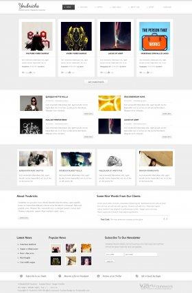 Youbricks - Responsive Joomla Blog Template