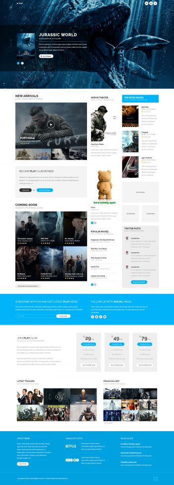 Play - Movies Joomla Template
