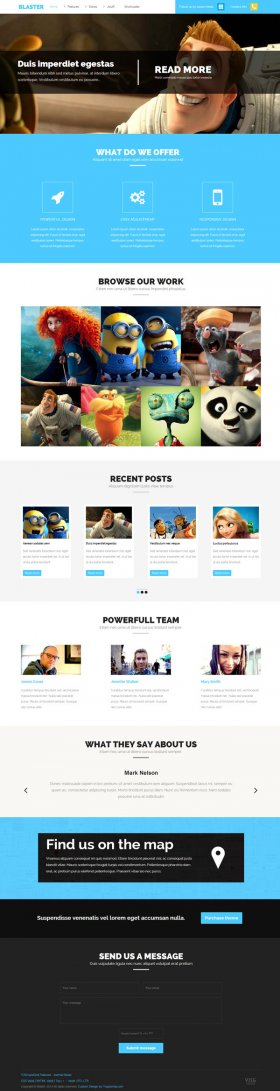 Blaster - All Purpose Joomla Template