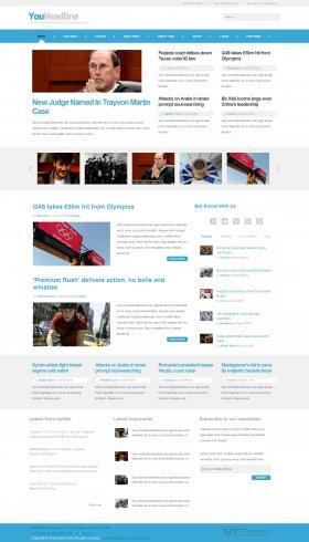 YouHeadline - News Magazine Joomla Template