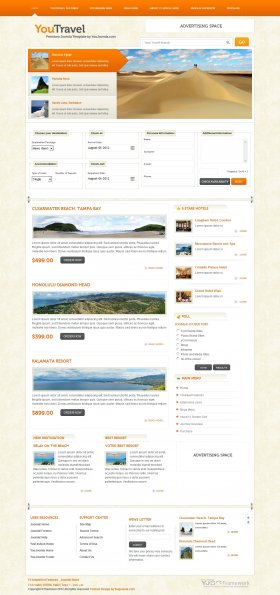 YouTravel - Joomla Travel Template