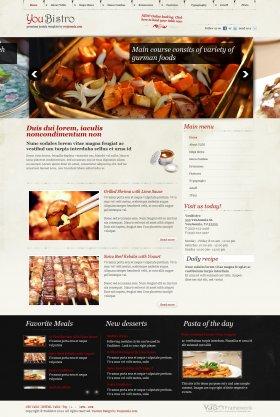 YouBistro - Joomla Restaurant Template