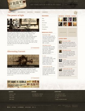 MyBlog V2-  Blog WordPress Theme