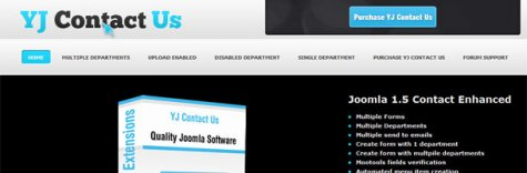 YJ Contact Us for Joomla 16/17 Released