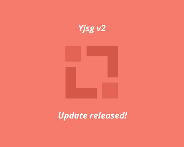 Yjsg Version 2.3.3 released