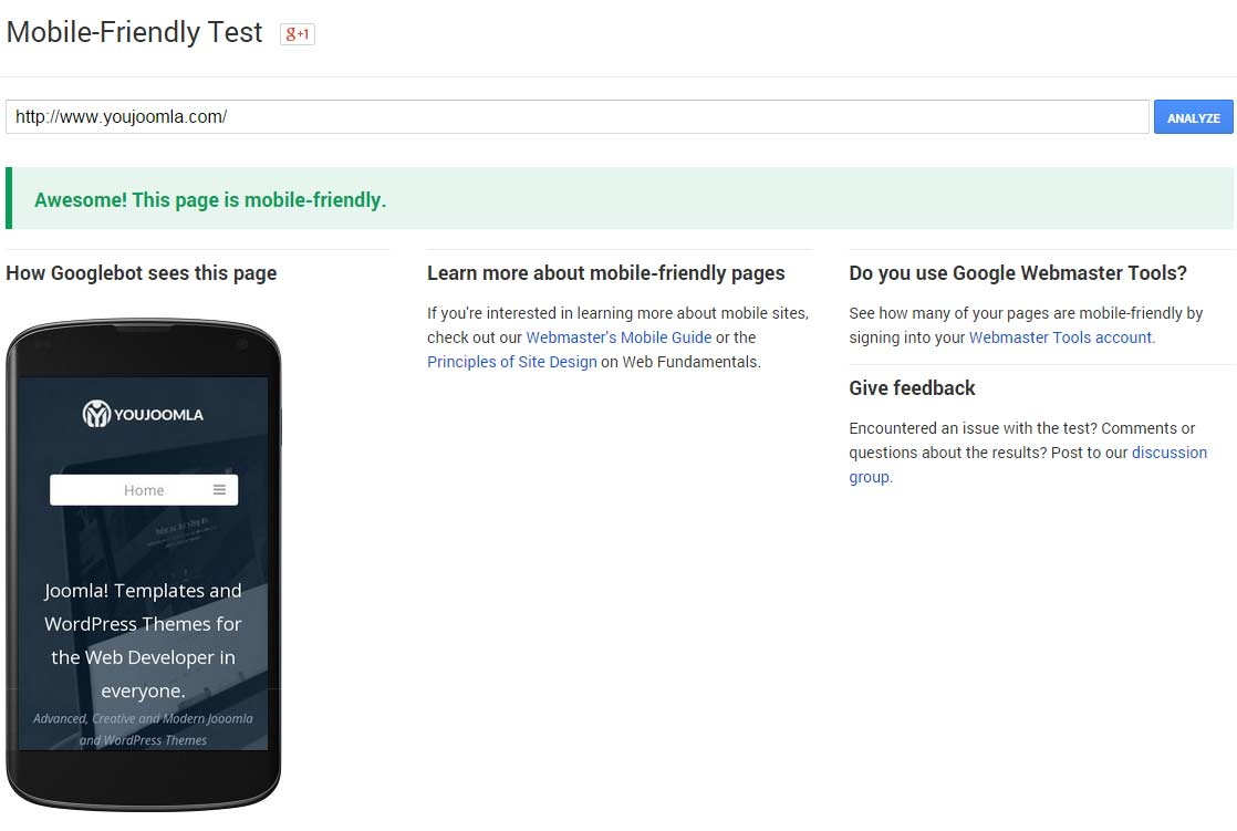 Is your Joomla website ready for Google Mobile Friendly update?