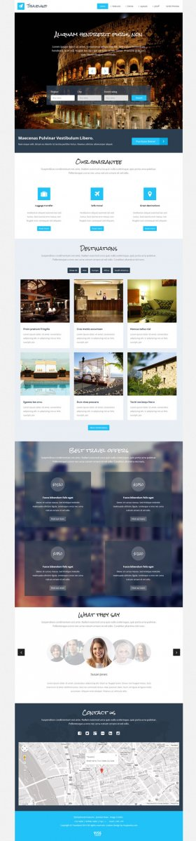 Traveland - Best Joomla Travel Template