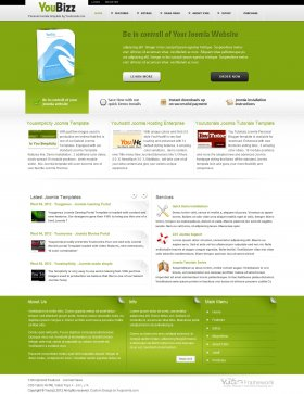 Youbizz - Joomla Business Template