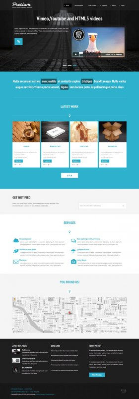 Pretium - Multi purpose Joomla Template
