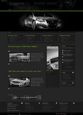 Elegance - Stylish Car Template