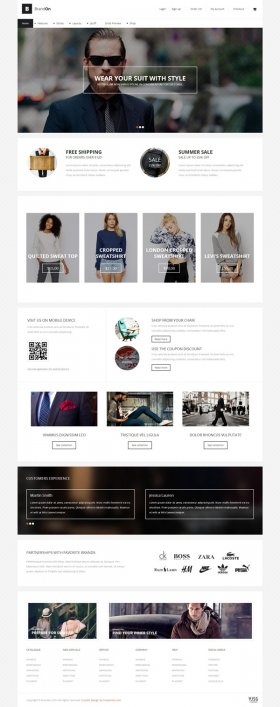 Brandon - Joomla eCommerce Template