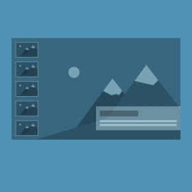 YouScene Slider - Joomla news slider with side navigation