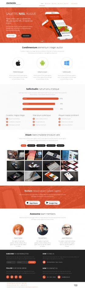 Memento - All purpose responsive Joomla! Template