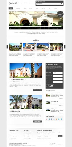 Yousold-Real Estate Joomla Template