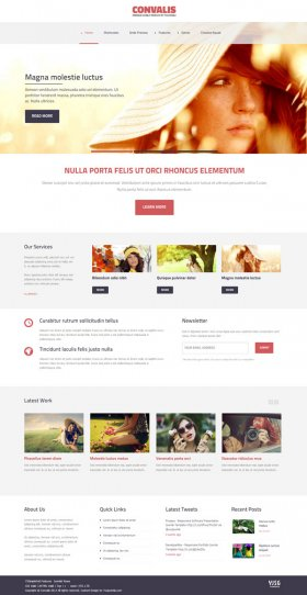 Convalis - Responsive Blog Template for Joomla 3.x and Joomla 2.5