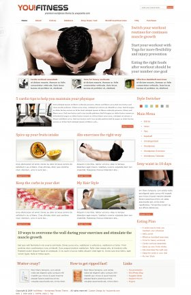 Youfitness - Fitness Wordpress Theme