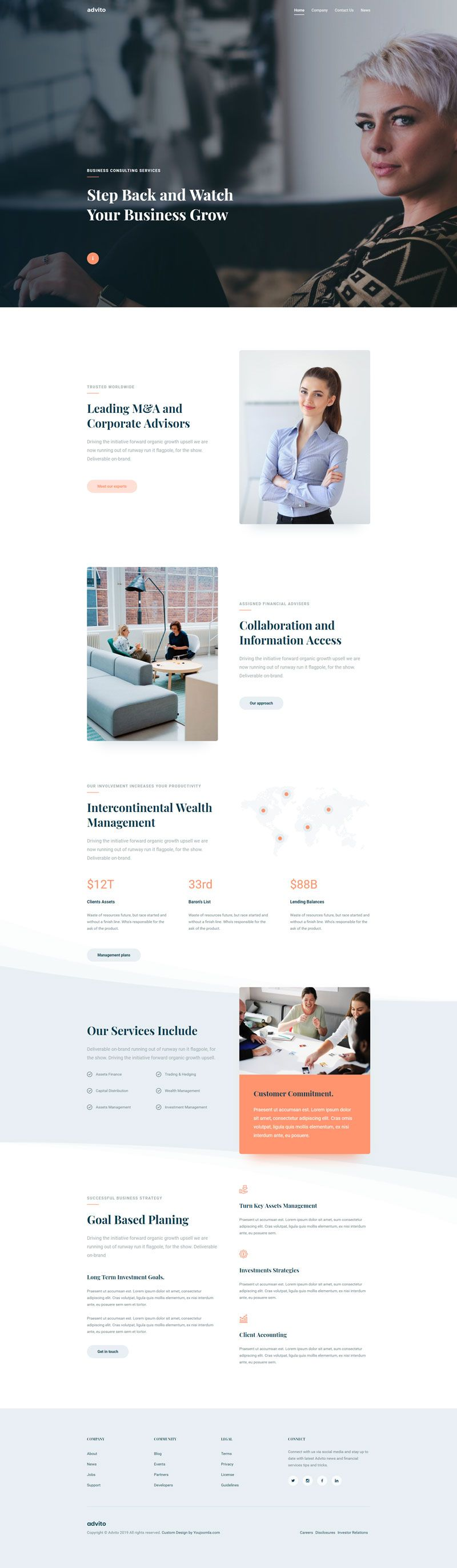 Advito - Corporate Business Joomla! Template