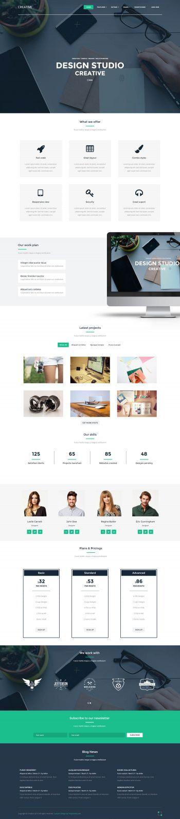 Creative - Designer Web Studio Joomla Template