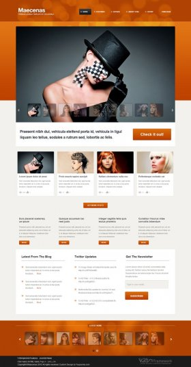 Maecenas - Photo Studio Joomla Template