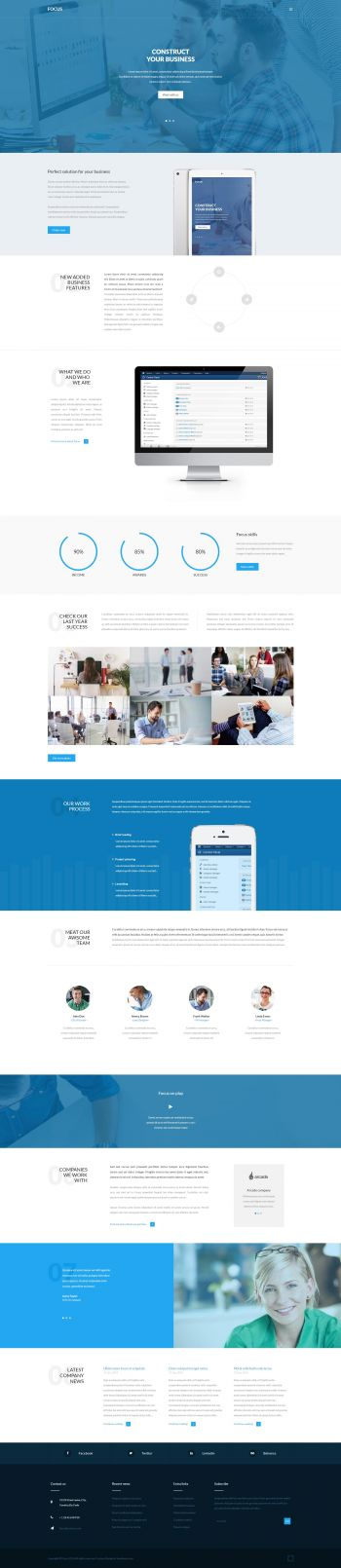 Focus - Business Joomla Template